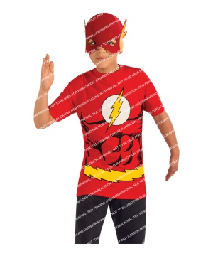 Boys Flash Costume Set