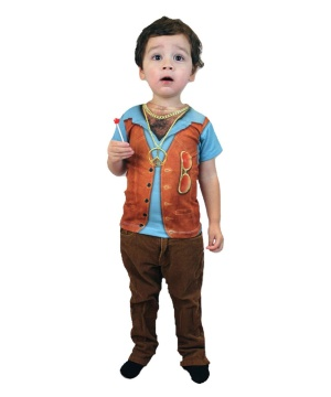Boys Hippie Costume Shirt