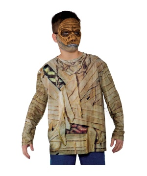 Boys Mummy Photo Real Shirt