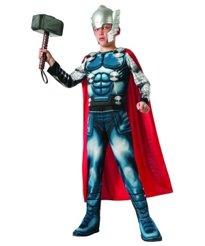 Thor Boys Muscle Costume