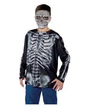Boys Xray Shirt Costume