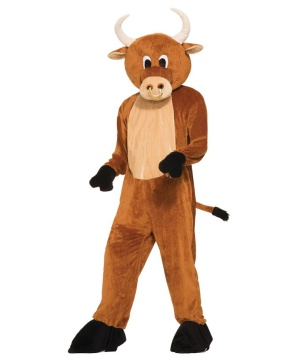 Brutus the Bull Mascot Adult Costume