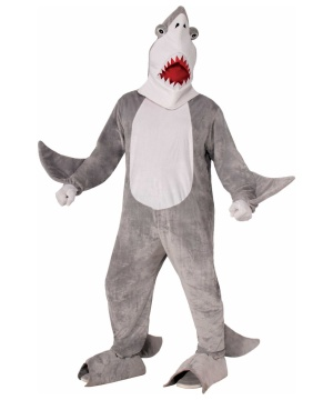 Chomper the Shark Mascot Costume