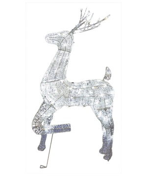 Christmas Buck Reindeer Lighted Decoration