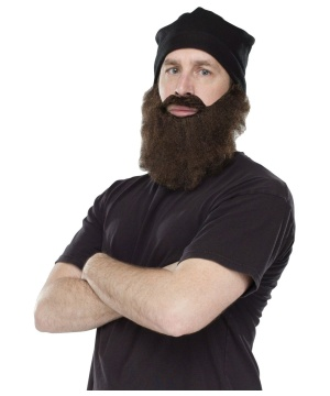 Crazy Quackers Beard Beanie Combo