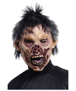 Decaying Zombie Latex Mask