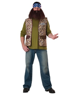 Duck Dynasty Willie Robertson Mens Costume
