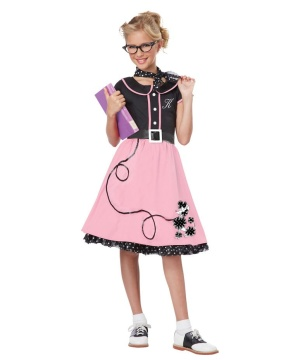 Girls 50ssweetheart Costume