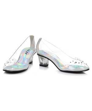 Girls Glass Slipper Princess Shoes
