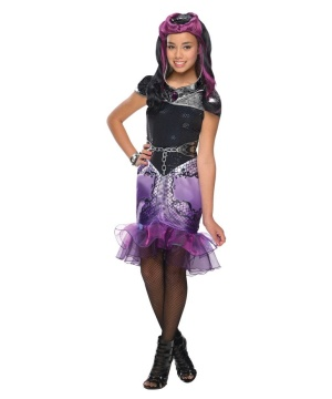 Girls High Raven Queen Costume