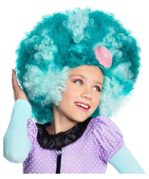 Girls Honey Swamp Costume Wig