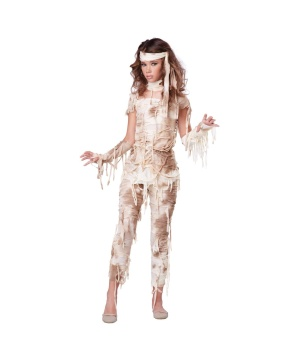 Girls Mummy Teen Costume