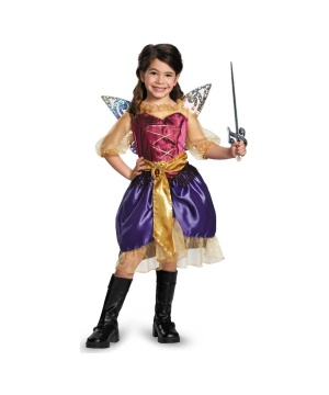 Girls Pirate Zarina Costume
