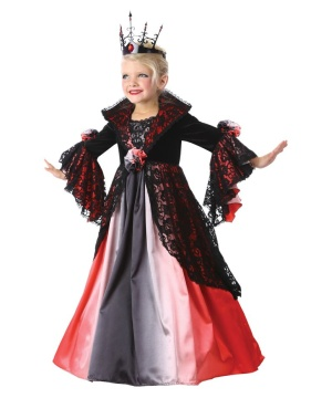 Girls Renaissance Vampire Costume