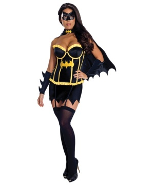 Girls Sexy Bat Woman Costume
