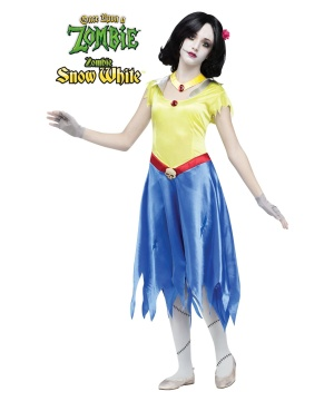 Girls Zombie Snow White Costume