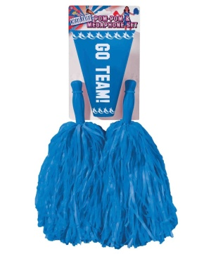 Go Team Cheerleader Blue Kit