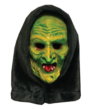 Halloween Witch Latex Mask