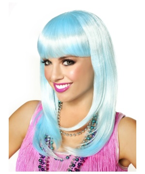 Icy Blue So Fine Mermaid Wig
