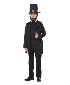 Kids Abraham Lincoln Costume