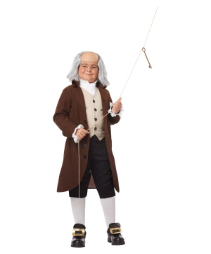 Kids Benjamin Franklin Costume