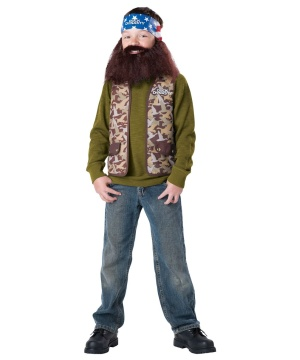 Kids Duck Dynasty Willie Costume