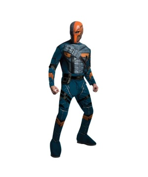 Mens Batman Arkham Deathstroke Costume