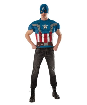 Captain America Men Costume