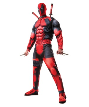 Deadpool Mens Muscle Costume