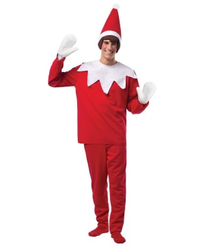 Elf on a Shelf Men's Christmas Costume
