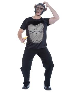 Funky Monkey Mens Costume Kit  sc 1 st  Wonder Costumes & Monkey Costume - Gorilla Costumes u0026 Chimp Outfits for all