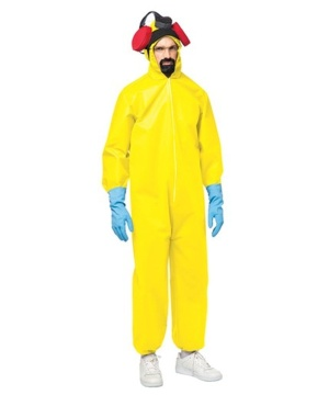 Mens Hazmat Toxic Suit Costume