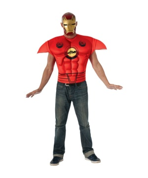 Mens Iron Man Shirt