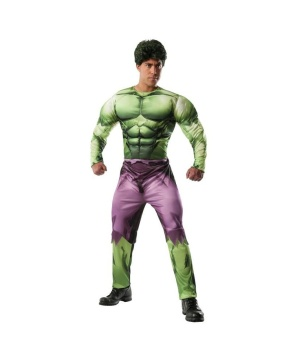 Mens Marvel Incredible Hulk Costume