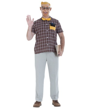 Mens Nerd Grab Costume Kit