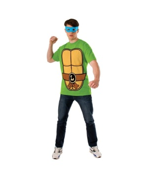 Mens Ninja Turtles Leonardo Tshirt