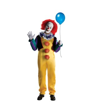 Mens Stephen Kings Pennywise Costume