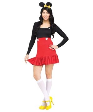 Miss Mikki Mouse Womens Costume