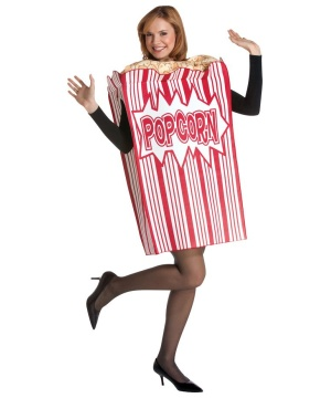 Movie Night Popcorn Box Costume