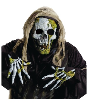 Skelton Zombie Costume Kit