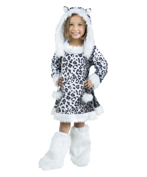 Snow Leopard Girl Costume