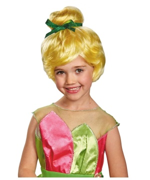 Tinker Bell Girls Wig