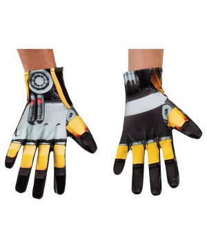 Transformers Bumblebee Mens Gloves
