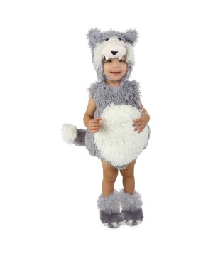Vintage Wolf Baby Costume