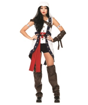 Assassin's Creed Connor Womens Costume Theatrical