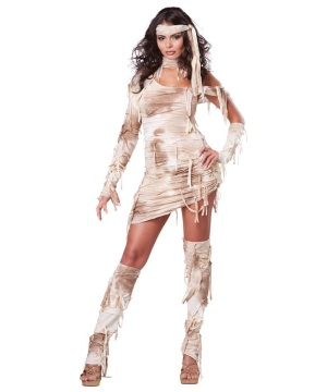 Mystical Mummy Womens Egyptian Costume deluxe