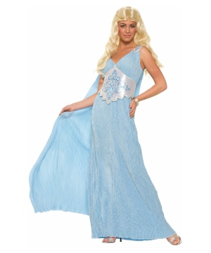 Womens Fantasy Queen Daenerys Costume