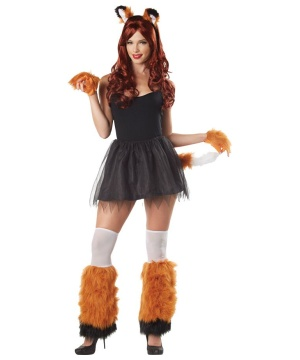 Womens Foxy Lady Costume Kit