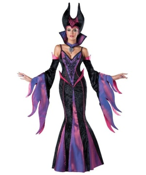 Evil Delight Maleficent Womens Costume