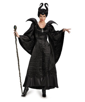 Disney Maleficent Womens plus size Costume deluxe